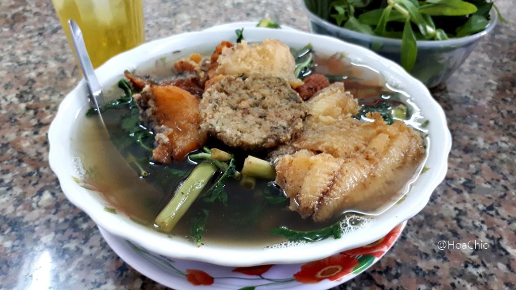 Canh cá rô - Hoa Chio