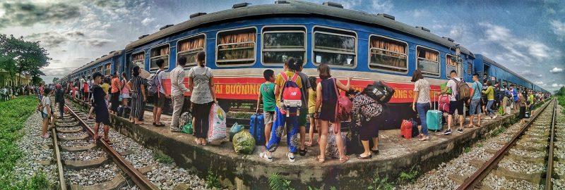 du lịch bằng tàu hỏa