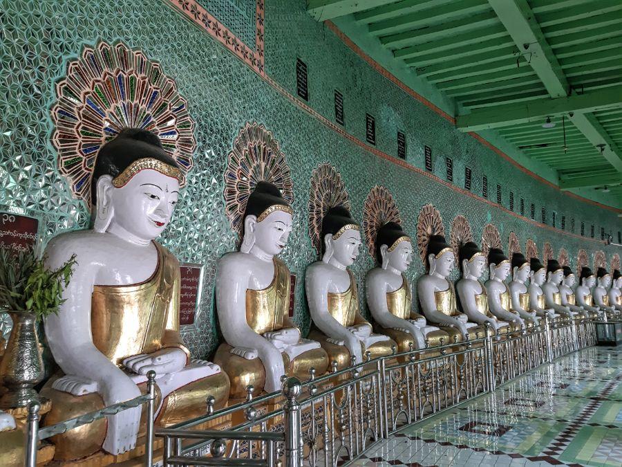 Umin Thonze Pagoda Mandalay