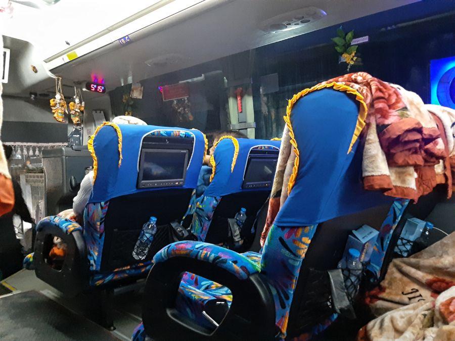 Bus đêm Myanmar
