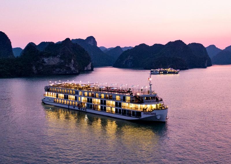 Du thuyền Indochine