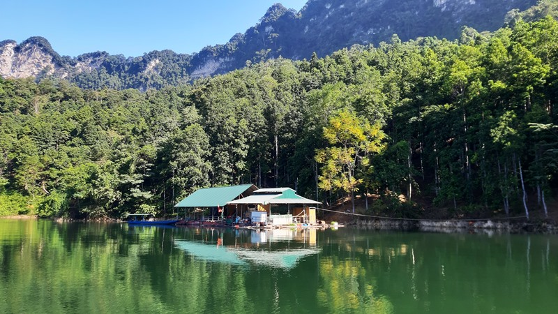 Du lịch Lâm Bình - Lòng hồ Na Hang